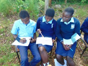 The Water Project:  Students Work Together At Training