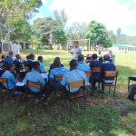 The Water Project: Kerongo Secondary School -  Trainer Christine Masinde In Action