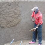 The Water Project: Banja Secondary School -  Interior Cement Work