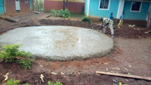 The Water Project:  Fitting Tap And Drainage Pipes In Concrete