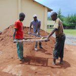 The Water Project: Kerongo Secondary School -  Sifting Sand
