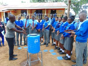 The Water Project:  Learning Steps Of Handwashing
