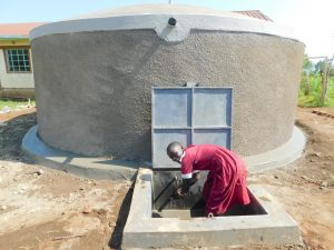 The Water Project:  Enjoying Clean Water From The Tank