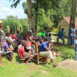 The Water Project: Malimali Community, Shamala Spring -  Training Begins
