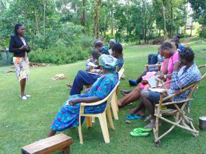 The Water Project:  Training Begins Led By Christine Masinde