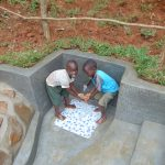 The Water Project: Bumira Community, Imbwaga Spring -  Children Happy At The Spring