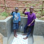 The Water Project: Kisasi Community, Edward Sabwa Spring -  Thumbs Up For Clean Water