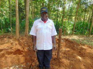 The Water Project:  David Murumbi Spring Landowner