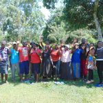 The Water Project: Jivovoli Community, Magumba Spring -  Smiles For Completing Training