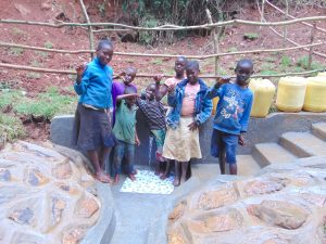 The Water Project:  Kids Pose With The Spring