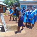 The Water Project: St. Joseph's Lusumu Primary School -  Learning Parts Of The Tank