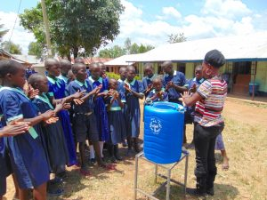 The Water Project:  Learning The Handwashing Steps