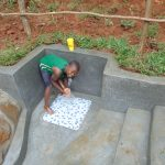 The Water Project: Bumira Community, Imbwaga Spring -  Enjoying The Spring Water