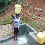 The Water Project: Kisasi Community, Edward Sabwa Spring -  Happy To Head Home With Clean Water