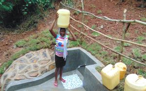 The Water Project:  Happy To Head Home With Clean Water