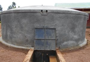 The Water Project:  Water Flows From New Rain Tank