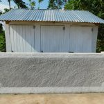 The Water Project: Mulwanda Mixed Primary School -  Completed Latrine Block