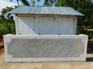 The Water Project:  Completed Latrine Block