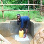 The Water Project: Kimarani Community, Kipsiro Spring -  Thumbs Up For Clean Water