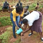 The Water Project: Busichula Community, Marko Spring -  Handwashing Demonstration With Trainer Joyce Naliaka
