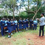 The Water Project: Kerongo Secondary School -  Christine Teaches Ten Steps Of Handwashing
