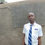The Water Project: Kamimei Secondary School -  Student Evans