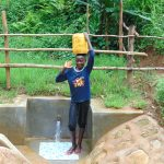 The Water Project: Kimarani Community, Kipsiro Spring -  Clean Water