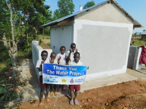 The Water Project:  Boys Say Thank You For New Latrines
