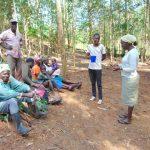 The Water Project: Shivembe Community, Murumbi Spring -  Handwashing Time