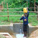 The Water Project: Kimarani Community, Kipsiro Spring -  Happy Day At The Spring