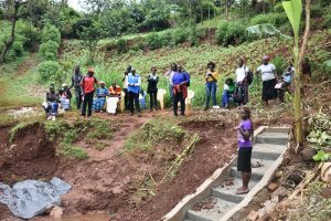 The Water Project:  Lynnah Leads Training On Site Management