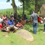The Water Project: Malimali Community, Shamala Spring -  Handwashing