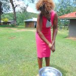 The Water Project: Buyangu Community, Mukhola Spring -  Mrs Millicent Mugasia Handwashing