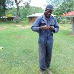 The Water Project: Buyangu Community, Mukhola Spring -  Ainea Aburili Handwashing