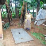 The Water Project: Bumira Community, Imbwaga Spring -  A Proud New Sanitation Platform Owner