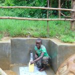 The Water Project: Kimarani Community, Kipsiro Spring -  Easy Filling Up