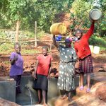 The Water Project: Shikhombero Community, Atondola Spring -  Happy Faces On Site