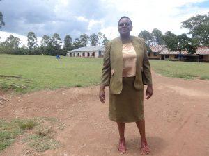 The Water Project:  Deputy Head Teacher Everlyne Amboste