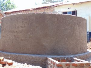 The Water Project:  Outer Wall Cement Complete