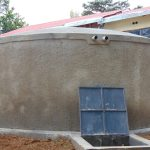 The Water Project: Banja Secondary School -  Newly Completed Rain Tank