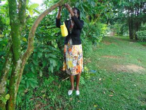The Water Project:  Hanging A Leaky Tin