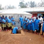 The Water Project: St. Joseph's Lusumu Primary School -  Look Flowing Water