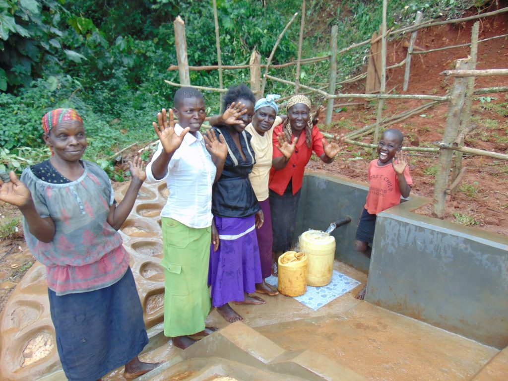 The Water Project : 42-kenya19147-celebrating-the-spring