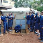 The Water Project: Kerongo Secondary School -  Students And Staff Celebrate The New Tank