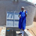 The Water Project: Mukama Primary School -  Thumbs Up For Clean Water