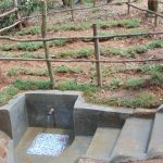 The Water Project: Shivembe Community, Murumbi Spring -  Clean Water Flows At Murumba Spring