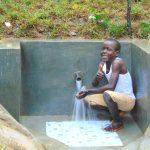The Water Project: Kimarani Community, Kipsiro Spring -  Thumbs Up At The Spring