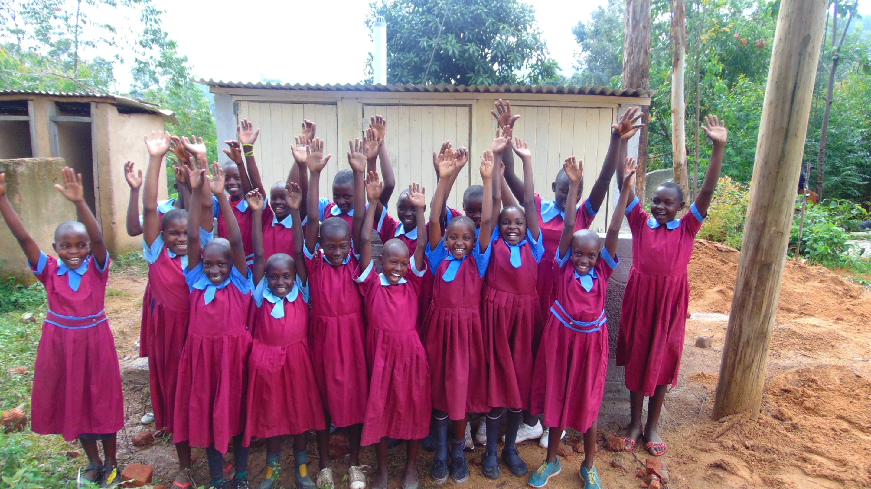 The Water Project : 45-kenya19080-hooray-new-latrines