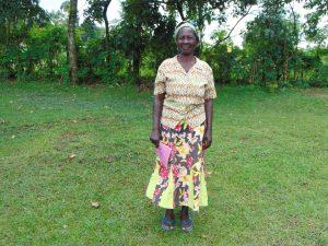 The Water Project:  Mrs Agnes Masitsa
