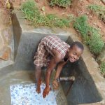 The Water Project: Shivembe Community, Murumbi Spring -  All Smiles At The Spring
